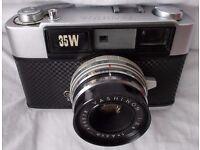 Camera Vintage: YASHICA 35W