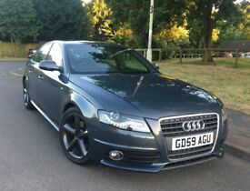 2010 Audi A4 S line 2.0TDI automatic 65000 on the clock leather