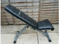 reebok adjustable weight bench..no offers