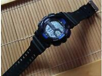A Divers waterproof digital watch, 50mm diameter !
