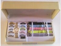 RENE CHRISTI SAPHIRE COLLECTION WATCH SET