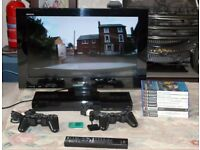 Sony Bravia 22 inch LCD TV with Built-in PlayStation 2 and Freeview