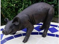 Suzie Marsh pig sculpture