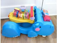 Fisher-Price Peek a Blocks Gobble And Go Hippo.