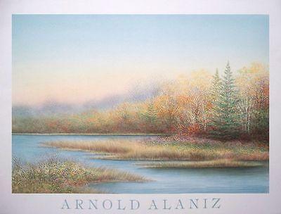 Arnold Alaniz - Landscape - vintage poster print -58x45cms Litho
