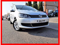13000 Miles ---- 2016 Volkswagen Sharan 2.0 TDI BlueMotion Tech SE DIESEL Automatic DSG (start/stop)