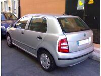 2002 Silver Skoda Fabia 1.4 petrol