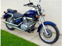 Stunning and immaculate Suzuki VL125 Intruder Custom (Only 4500 miles on clock) UK DELIVERY AVAIL