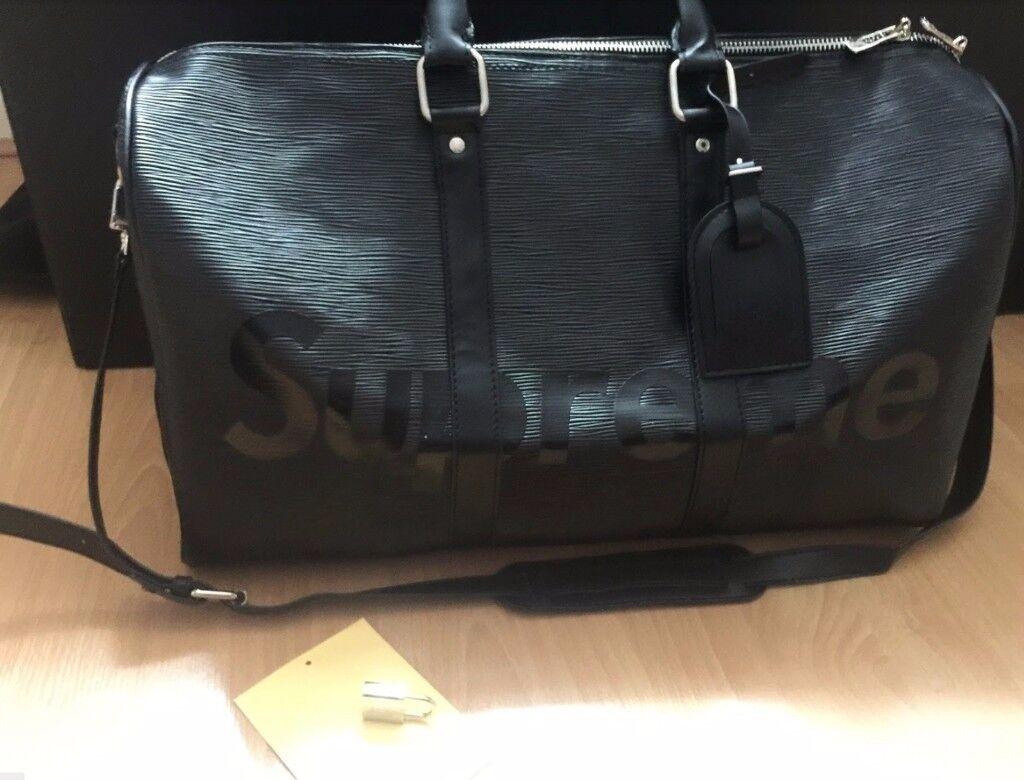 Louis Vuitton duffle/keepall/gym/travel bag