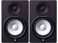 Yamaha HS7 Black Active Studio Monitor (pair) NEW