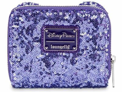 Disney Mickey Mouse Potion Purple Sequined Wallet by