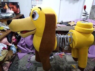 Slinky Dog Toy Story Maskottchen Kostüm Party Charakter Geburtstag