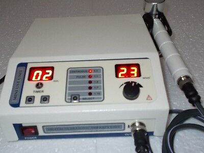 New 1-mhz Ultrasound Therapy Machine Portable Chiropractic Deep Heat Tissue-fd5