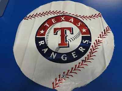 "Texas Rangers MLB Pro Baseball Sports Party Decoration 18"" Foil Mylar Balloon"
