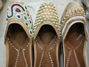 Indian Pakistani ladies men's kids wedding shoes jutti mauje