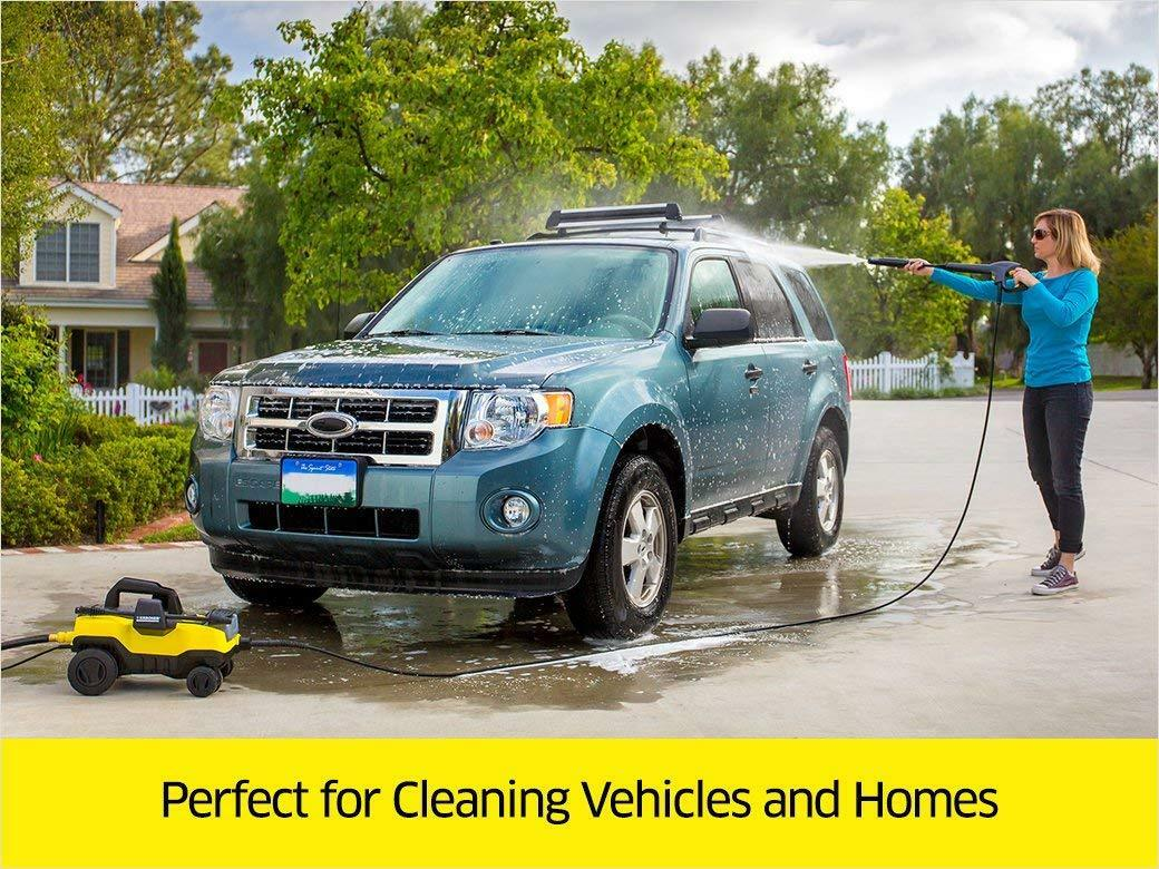 Karcher K3 Follow-Me Electric Power Pressure Washer With 4 R