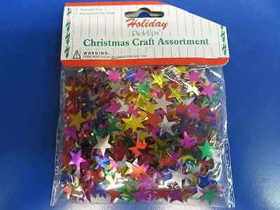 Multicolor Stars Birthday Party Table Decoration Sprinkles Shaped Foil Confetti