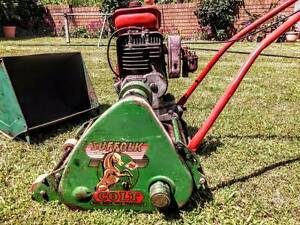 Lawn mower reel type Athelstone Campbelltown Area Preview