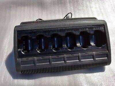 Motorola Impres Wpln4121br 6 Bank Battery Charger V. 3.90 Mts2000 Ht1000 Xts5000