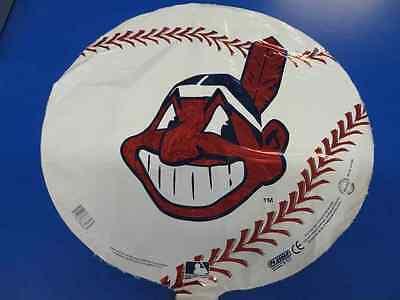 "Cleveland Indians MLB Baseball Sports Party Decoration 18"" Foil Mylar Balloon"