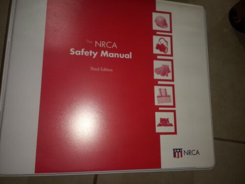 nrca safety manual 3rd edition national roofing contractor association