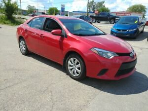 2014 Toyota Corolla |One Owner | Back-up Camera | Heated Seats