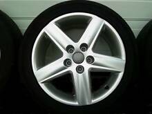 1 x 17INCH AUDI ALLOY WHEEL GENUINE 5X112PCD A4 A6 VW GOLF PASSAT Georges Hall Bankstown Area Preview