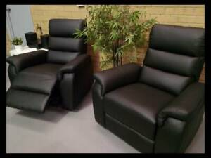 NOW $599 EACH! WAREHOUSE DIRECT BRAND NEW LEATHER ELECTRIC RECLINERS