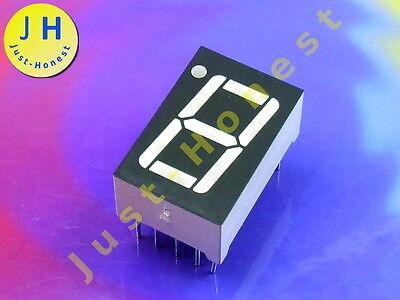 LED Anzeige 7-Segment Numeric Display 1 DIGIT Rot / Red  CC (Kathode) #A1284