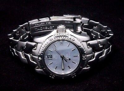 TAG Heuer Link WT141G Stainless Steel Quartz Ladies Watch Free Shipping