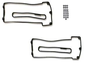 Left & Right Valve Cover Gasket Set 1999-2003 for BMW E38 E39 E53  11129071589