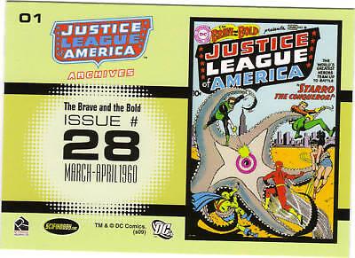Justice League Archives base set 1-72