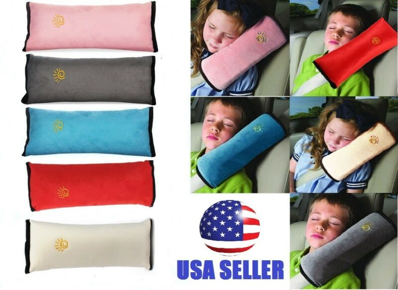Child Kids Car Safety Strap Cover Harness Pillow Shoulder Seat Belt Pad Cushion