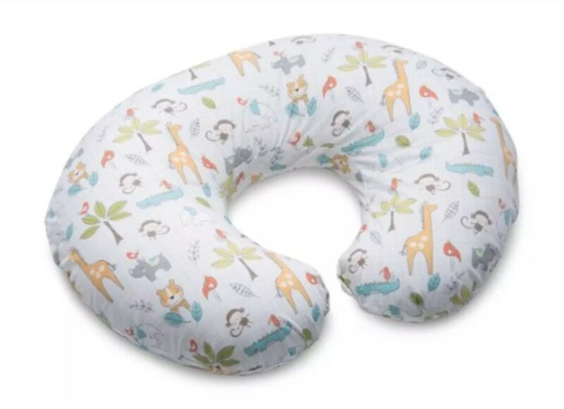 Boppy Pillow Slipcover, Classic SC Jungle Beat - Soft Cotton Blend Fabric - New