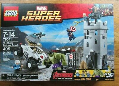 LEGO Marvel Super Heroes The Hydra Fortress Smash 76041 new sealed