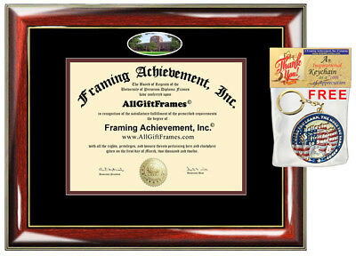 Central Michigan University Diploma Frame CMU Graduation Gift Degree Frames Case ()
