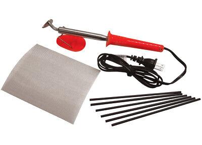 Ridgeyard 1600w Hot Air Gun Plastic Welding Heat Welder Kit W Nozzles Rod