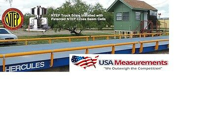 Usa Measurement  40 X 10 Ft Truck Scale 100000 Lb Steel Deck Ntep Approveds