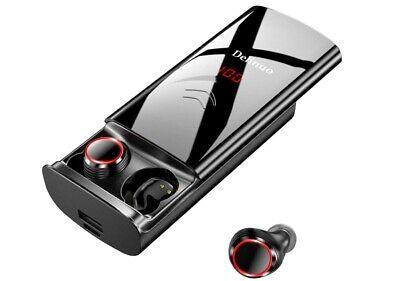 Delinuo Auriculares Inalámbricos Bluetooth 5.0 Auriculares Bluetooth Estéreo