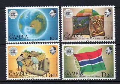Gambia 1983 Commonwealth Day MNH set