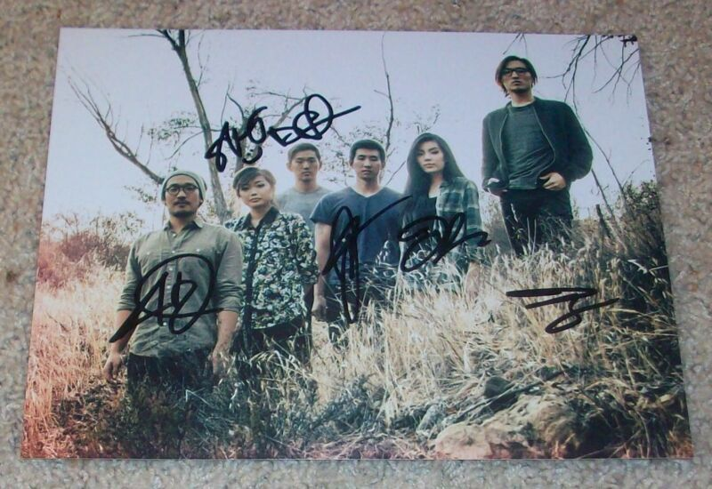 RUN RIVER NORTH SIGNED AUTOGRAPH 8x10 PHOTO D w/PROOF ALEX HWANG +5