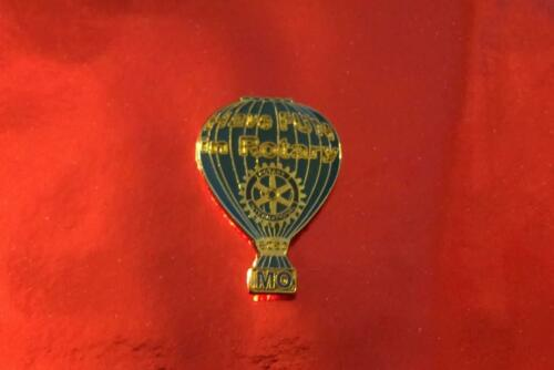 Rotary International Pin     HOT AIR BALLOON HAVE FUN IN ROTARY