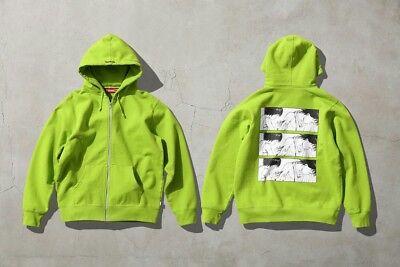 Supreme x AKIRA Hoodie Sweatshirt (L / Large) Lime Syringe