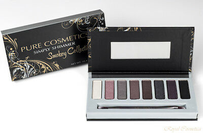 Pure Cosmetics Makeup Simply Shimmer Smokey Collection Long-Wearing Eyeshadow