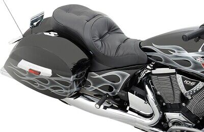 Drag Specialties Front Low-Profile Touring Pillow Seat Victory Cross Roads 10-15