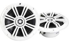"Kicker 41KM604W 6-1/2"" 2-way Coaxial Marine Speakers (Pair) NEW!!!"