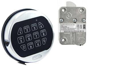 La Gard 5750k Keypad And Lock Kit Satin Chrome