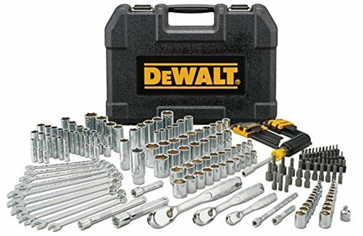 DEWALT DWMT81534 205Pc Mechanics Tool Set Sockets Wrenches M