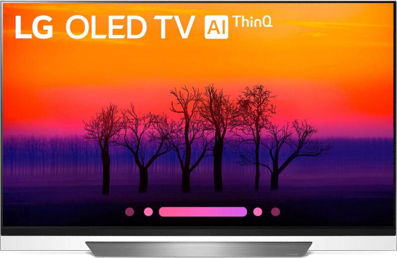 """LG 65"""" Class OLED E8PUA Series 2160p Smart 4K UHD TV with HDR OLED65E8PUA"""
