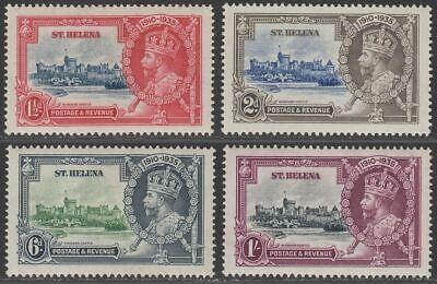 St Helena 1935 KGV Silver Jubilee Set Mint SG124-127 cat £35